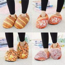 Unisex Cute Indoor Slippers Lovers Bread Korean Style Couples Shoes Kawaii Warm