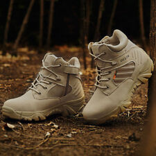 Men Desert Delta Force Military Boots Tactical Airsoft Hunting Outdoor Army Ta