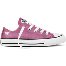 Converse Chuck Taylor All Star Glitter Ox Bright Violet Synthetic Youth