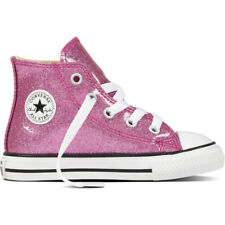 Converse Chuck Taylor All Star Glitter Hi Bright Violet Synthetic Baby