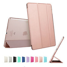 Slim Lightweight Smart Stand Cover Translucent Back For iPad 2 3 4 5 Mini Air