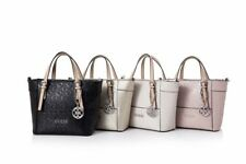 Delaney 4G Logo Small Tote Handbag With Crossbody Strap 5 Colors Bag NWT XGJ