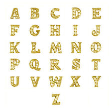 GOLD LETTERS FITS ORIGAMI OWL LOCKETS
