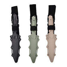 Tactical Knife Model Rubber Dagger Military Cosplay Toy Sword Training PropsRDFK