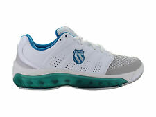 Womens K-Swiss Tubes Tennis 100 White Blue Grey 92742177