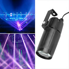 3W LED Beam Stage Light Effect White Lighting Dance DJ Disco Club Party Lamp