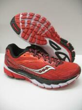 New Saucony Ride 8 S10273-5 Running Training Shoes Sneakers Red Black Womens