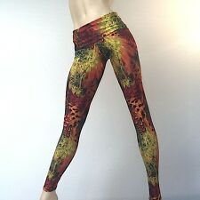 Feather Hot Yoga Pants Fold Over/Low Rise Legging SXYFITNESS MADE IN USA