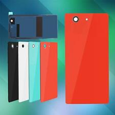 Back Door Battery Rear Housing Cover Tempered Glass Case For Sony Xperia OC AU#2