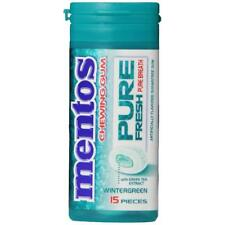 Mentos Gum Pocket Bottle, Pure White Sweet Mint, 1.06 Ounce (Pack of 10)