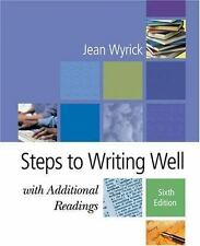 Steps to Writing Well with Additional Readings (with InfoTrac )-ExLibrary