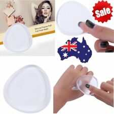 Transparent Silicone Foundation Powder Puff Pad Makeup Tool Water Drop Shape F#