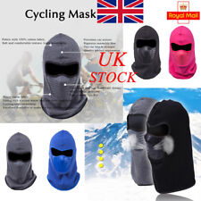 UK Men Women Windproof Full Face Mask Dustproof Warm Thermal Riding Cycling Ski