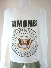 RAMONES Punk Rocker Rock Band Sexy Tank Top Tunic Men Singlet T-Shirt Size M , L
