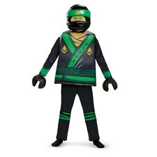 Lego Ninjago Movie Deluxe Lloyd Child Costume, 23515, Disguise