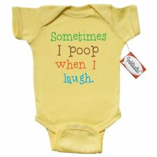 Inktastic Sometimes I Poop When I Laugh. Infant Creeper Humor Funny Cute Baby