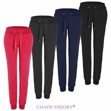 Ladies Womens Fleece Jogger Jogging Bottoms Tracksuit Yoga Loungewear Pants