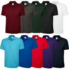 New Mens & Ladies Active Pique Polo Shirt Size XS-6XL for Sport Work Leisure 105