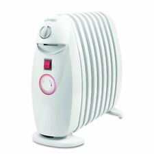 DeLonghi TRN0812T Portable Oil-Filled Radiator Heater with Programmable Timer