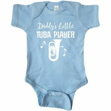 Inktastic Future Tuba Player (Daddys Little) Infant Creeper Daddys Little Music