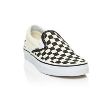 Vans - Classic Slip Mens Womens Casual Shoes - Black/White Checkerboard