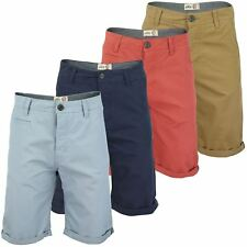 Mens Chino Shorts by Tokyo Laundry 'Ludovic' Enzyme Washed