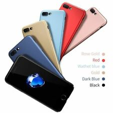 Luxury Case For iPhone Ultra Plain Glossy Thin Slim Cover for Apple Phone Back S