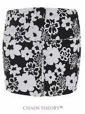 Womens Ladies Floral Short Mini Bodycon Skirt Summer Party Fashion