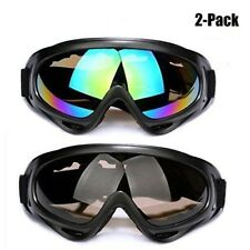 Snow Ski Goggles Snowboard Winter Glasses Sports Anti Glare Lens UV400 2 Pack