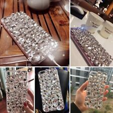 Luxury Handmade Crystal Rhinestone Bling Diamond Glitter Case Cover for iPhone X