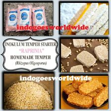 SAME DAY SHIPPING Tempeh Starter RAPRIMA Yeast Ragi How To Make Tempe LONG EXP