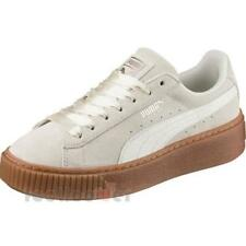Puma Suede Platform Bubble Wns 366439 02 Womens Shoes Marshmallow Casual Sneaker