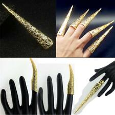 Chinese Ancient Queen Steampunk Punk Claw Hook Ring Adults Party Fingernail Ring