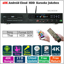 Android HDD Karaoke Jukebox/Player/Songs Machine Thai VCD DVD  40K Songs,2TB HDD