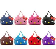 New Women Travel Duffel Bag Hello Kitty Handbag Organizer Shoulder Bag Travel