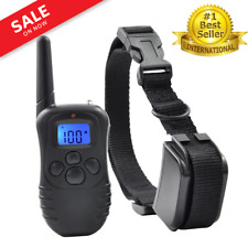 Dog Training Collar with Remote Shock Electric Vibration Pet Training Waterproof
