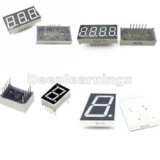 7 Segment 0.56/1.8/0.36 /0.5inch 1/3/4 Digit Common Cathode/Anode Led Display DP