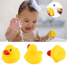 1/3/5/10/20Pcs Lots Mini Yellow Rubber Race Squeaky Bathing Duck Ducky Baby Toys