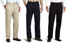IZOD Mens American Chino Flat Front Straight Fit Pants size 32 33 34 38 NEW