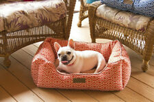 DOG CAT TRELLIS DESIGN ORTHOPEDIC ULTRA SOFT WITH BOOSTER AND FLEECE INSIDE BED