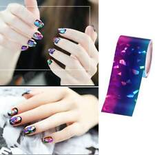 Gradient Colorful Nail Foils Starry Sky Manicure Transfer Sticker Nail Art