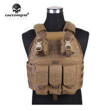EMERSON SPC VEST Tactical Plate Carrier Vest Pouch Molle Body Hunting Wargame