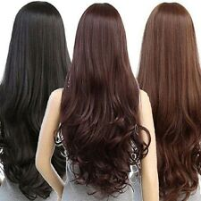 Women Long Curly Wavy Full Wig Heat Resistant Hair Cosplay Party Lolita Grace P4