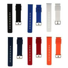Watch Band Strap Sports Watch 18mm/22mm Replace Silicone Rubber Replacement