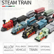 Classical Alloy Retro Steam Simulated Joint Train Model Kids Toys Gifts 2018