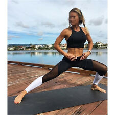 Women High Waist Yoga Pants Fitness Sports Running Leggings Gym Stretch Trousers