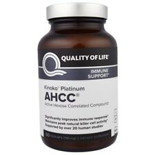 QUALITY OF LIFE Labs Kinoko AHCC Immune Support - Silver / Gold / Platinum - NEW