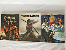 Video Game Strategy Guides Fallout New Vegas, Tomb Raider, Rogue Galaxy