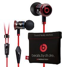Genuine Monster Beats, Beats by Dr Dre iBeats Headphones with ControlTalk