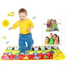 Piano Keyboard Baby Kid Toy Learn Singing Musical Blanket Blanket Touch Play Z